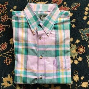 Madras Shirt Men's